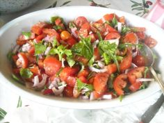 Insalata di pomodori mista
