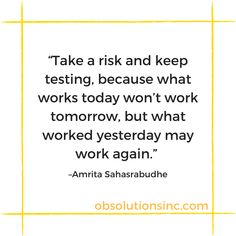 Online Marketing, Digital Marketing, Work Tomorrow, What Works, Today Quotes, Take Risks, Keep Trying, Management, Things To Come