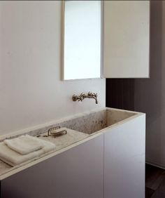 Bathroom design inspiration - Vincent Van Duysen | Small Bathroom + Space Interior Design