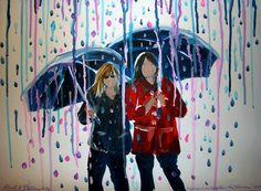 Friends can weather the storms! created by Rita L Stevens