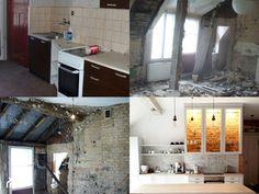 #metamorfozapoddasza - Remont dwupoziomowego mieszkania na poddaszu