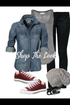 Cute Grunge style Look! - Crazy Shirt - Ideas of Crazy Shirt - Cute Grunge style Look! Fashion Mode, Grunge Fashion, Look Fashion, Autumn Fashion, Womens Fashion, Petite Fashion, Casual Fall Outfits, Edgy Outfits, Mode Outfits