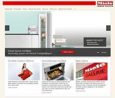 Das neue Gesicht der Miele Website, randvoll mit Infos aus der der Welt von Miele. Entdecken Sie jetzt unsere neue Website! http://www.miele.at/