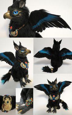 Egyptian Griffin 2 by ~kimrhodes on deviantART