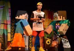 Peça de teatro baseado em 'Minecraft' estreia hoje em Volta Redonda
