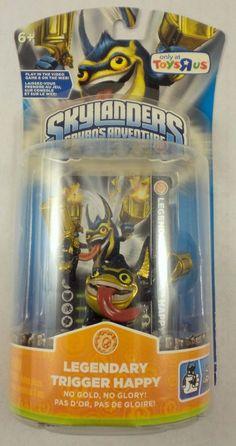 Skylanders Spyro Single Character Pack Core Series Legendary Trigger Happy #Activision