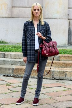 The 50 Best Model Off Duty Outfits of 2014