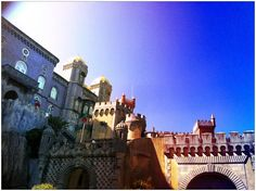 #TheAuthenticExperiences.com Moorish, Most Romantic, Old Town, Beautiful Landscapes, Places Ive Been, Old Things, Castle, Louvre, Sintra Portugal