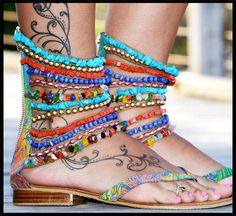 Eye catching sandals