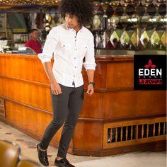 La versatilidad de una camisa puede ofrecerte muchas formas de lucir muy bien, desde una pinta casual a una formal   Arma la pinta con #EDENJeans #EdenLaRompe #ModaMasculina