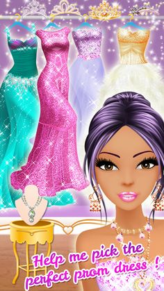 Prom Beauty Queen Salon – Capture d'écran