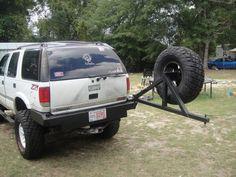 s10 blazer rear bumper tire carrier - Google Search