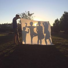Shadow Puppet Theater Under The Stars