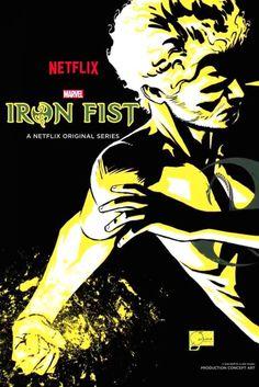 "scienceninjaturtle: ""Marvel Netflix- Comic Con Posters by Joe Quesada "" Very cool. Iron Fist Netflix, Ms Marvel, Marvel Show, Marvel Movies, Netflix Marvel, Comic Movies, Marvel Heroes, Comic Books, Iron Fist Marvel"