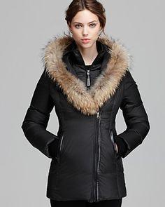 Mackage Down Coat - Adali Lavish Fur Trim Hood | Bloomingdale's