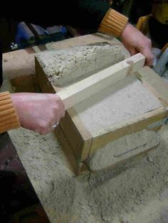 DIY sand cast