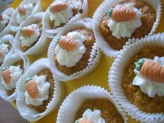 Carrot Cake Cupcakes  www.facebook.com/BaumbergerEntdecker