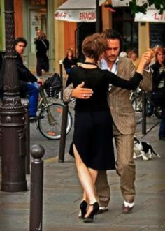To dance, put your hand on your heart and listen to the sound of your soul. ~ Eugene Louis (Luigi) Faccuito