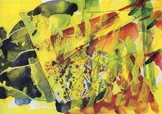 Gerhard Richter - G. 1 1984 Watercolor and graphite on paper Gerhard Richter, Abstract Sculpture, Abstract Art, Abstract Paintings, Z Arts, Watercolor Paintings, Watercolour, Contemporary Art, Modern Art