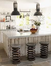industrial salvage style kitchen - Google Search
