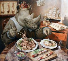 """Dinner without Salmon"" | Jose Luis Lopez Galvan"