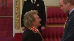 Rod Stewart and Prince William