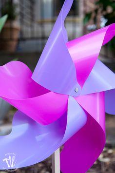 DIY Giant Outdoor Pinwheels