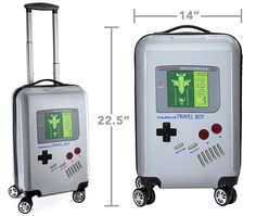 Travel Boy - The Game Boy was a revolutionary breakthrough in handheld gaming technology; the Travel Boy Game Boy luggage case is a revolutionary breakthrough i. Game Boy, Geeks, Portable Console, Best Carry On Luggage, Francis Picabia, Best Gifts For Him, Retro Gamer, Technology Design, Nerd Geek