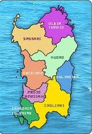 Sardegna Cartina Politica Dettagliata.Risultati Immagini Per Cartina Politica Della Sardegna Nel 2021 Educazione Ambientale Sardegna Politica