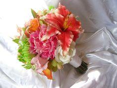 real touch tropical destination bouquet
