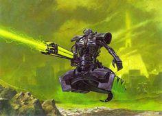 Forces of the Necron (The Necron Destroyer) by kokoda39 on DeviantArt