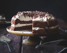 The Bojon Gourmet: Chocolate Chestnut Cream Cake with Coffee + Rum {gluten-free}