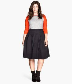 Crinkle skirt | H&M US