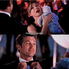 you are using the mcbaby to your mcgame? Greys Anatomy Funny, Grey Anatomy Quotes, Grays Anatomy, Greys Anatomy Characters, Meredith And Derek, Patrick Dempsey, Youre My Person, Movie Lines, Tv Show Quotes