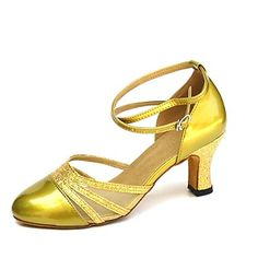 Women's Leatherette Ankle Strap Modern / Ballroom Dance Shoes (More Colors) – USD $ 19.99