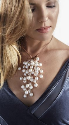 Wendy Mignot Pearls And Leather Coastal Collection