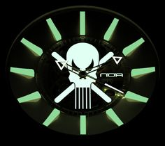 N.O.A Skell And Ghost Watches   noa $2,500