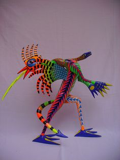 Dragón Gallo by Alebrijes Jimenez, via Flickr