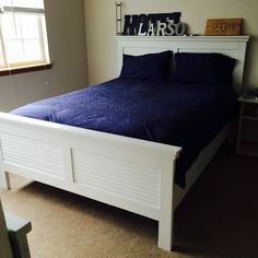 Coastal Kentwood Bed | Do It Yourself Home Projects from Ana White