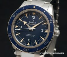 Basel 2014 : la nouvelle Omega Seamaster 300 | The Watch Observer