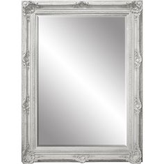 Mirror Large Antique French White 7\' Feet Tall 64\