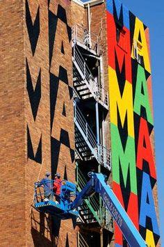 Maboneng Precinct- I Art Joberg mural tours I Jo'burg I South Africa