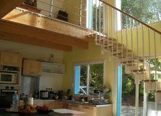 Fontanot Pixima Long modular Staircase Modular Staircase, Staircases, Attic, Scale, Stairs, Diy Projects, Home Decor, Trendy Tree, Loft Room