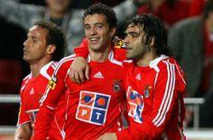 Leo, Simão e Micolli no Benfica