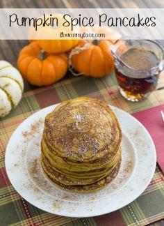 Pumpkin Spice Pancakes Recipe - Flour On My Face