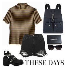 """""""Untitled #25"""" by gracieekleinn on Polyvore featuring Topshop, Jeffrey Campbell, Mulberry and Chanel"""