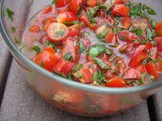 Fresh Tomato, Basil, Garlic Sauce