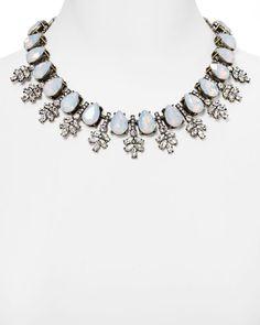 "Baublebar Wreath Collar Necklace, 16"""