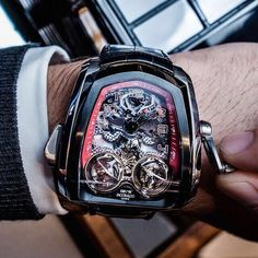 Wrist coolness of The Twin Turbo by Jacob&Co.