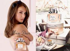 Miss Dior cherie (natalie portman) Perfume, Miss Dior, Natalie Portman, Christian Dior, How To Memorize Things, Celebs, My Favorite Things, My Style, Beauty